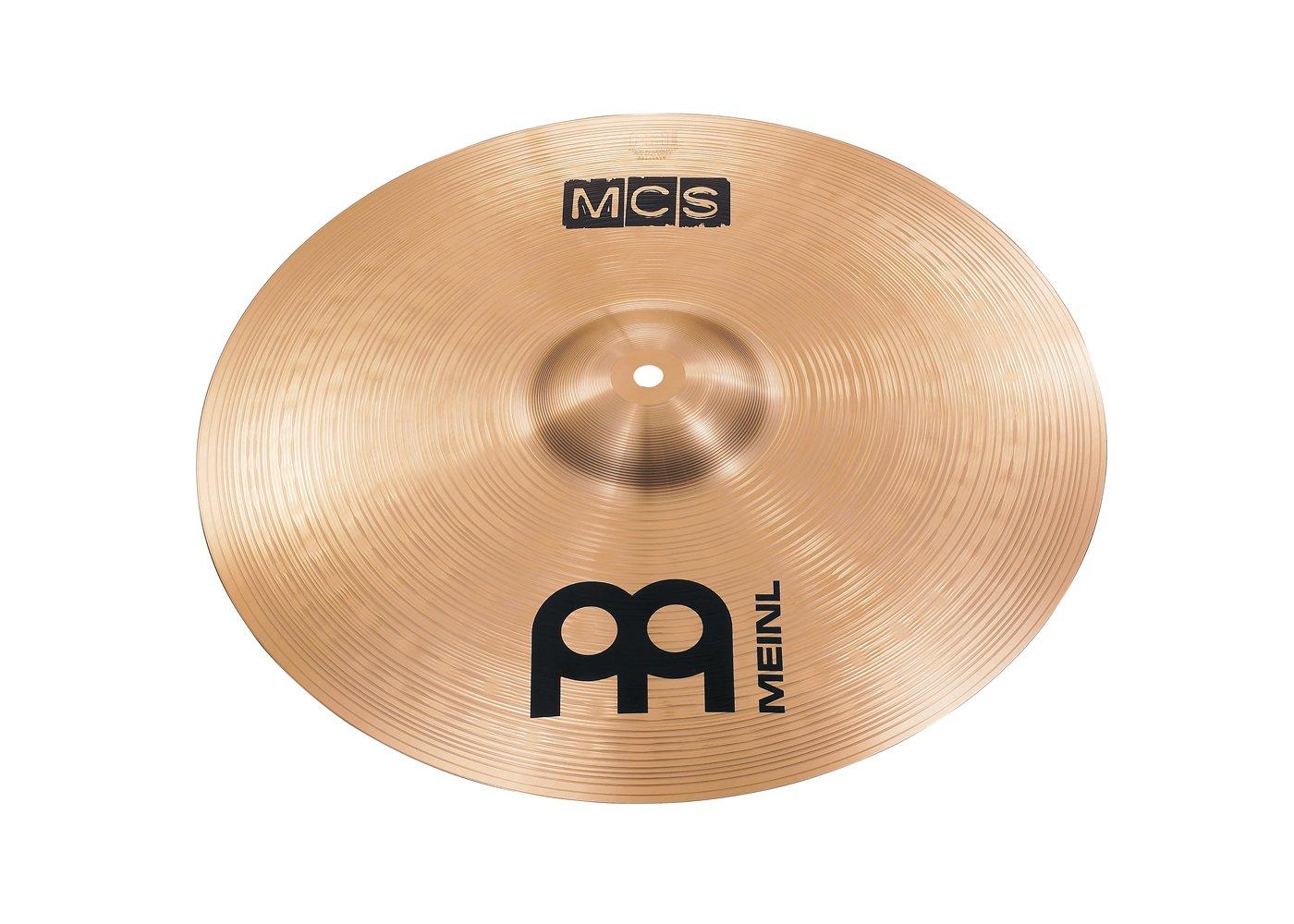 MEINL MCS Set di Piatti – Hi Hat 14, Crash 16, Ride 20 – MCS141620-3