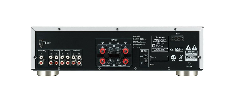 pioneer amplifier. pioneer a-20-s 50w stereo amplifier - silver: amazon.co.uk: audio \u0026 hifi 8