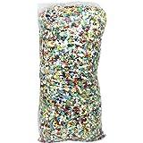 com-four® 1000g Saco de Confeti en Colores Brillantes - Decoraciones para Fiestas, el año Nuevo y cumpleaños - Bolsas de Conf