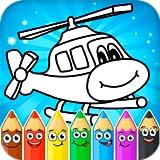 Coloriages pour enfants: transport...