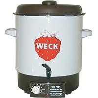 Glühweinkocher ca. 29 Liter Heißgetränkespender + Auslaufhahn - ideal als Heißwasserspender o. Glühweintopf als Einkochautomat - Leistung 2000 Watt