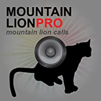 REAL Mountain Lion Calls & Sounds App for Predator Hunting (ad free) - BLUETOOTH COMPATIBLE