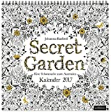 Secret Garden 2017: Eine Schatzsuche zum Ausmalen