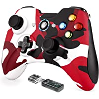 REDSTORM PC Controller, Wireless USB Gaming Controller, Wireless Gamepad for Windows / PS3 / Android, Plug and Play…