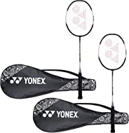 Yonex ZR 100 Light Aluminum Blend Badminton Racquet with Full Cover, Set of 2