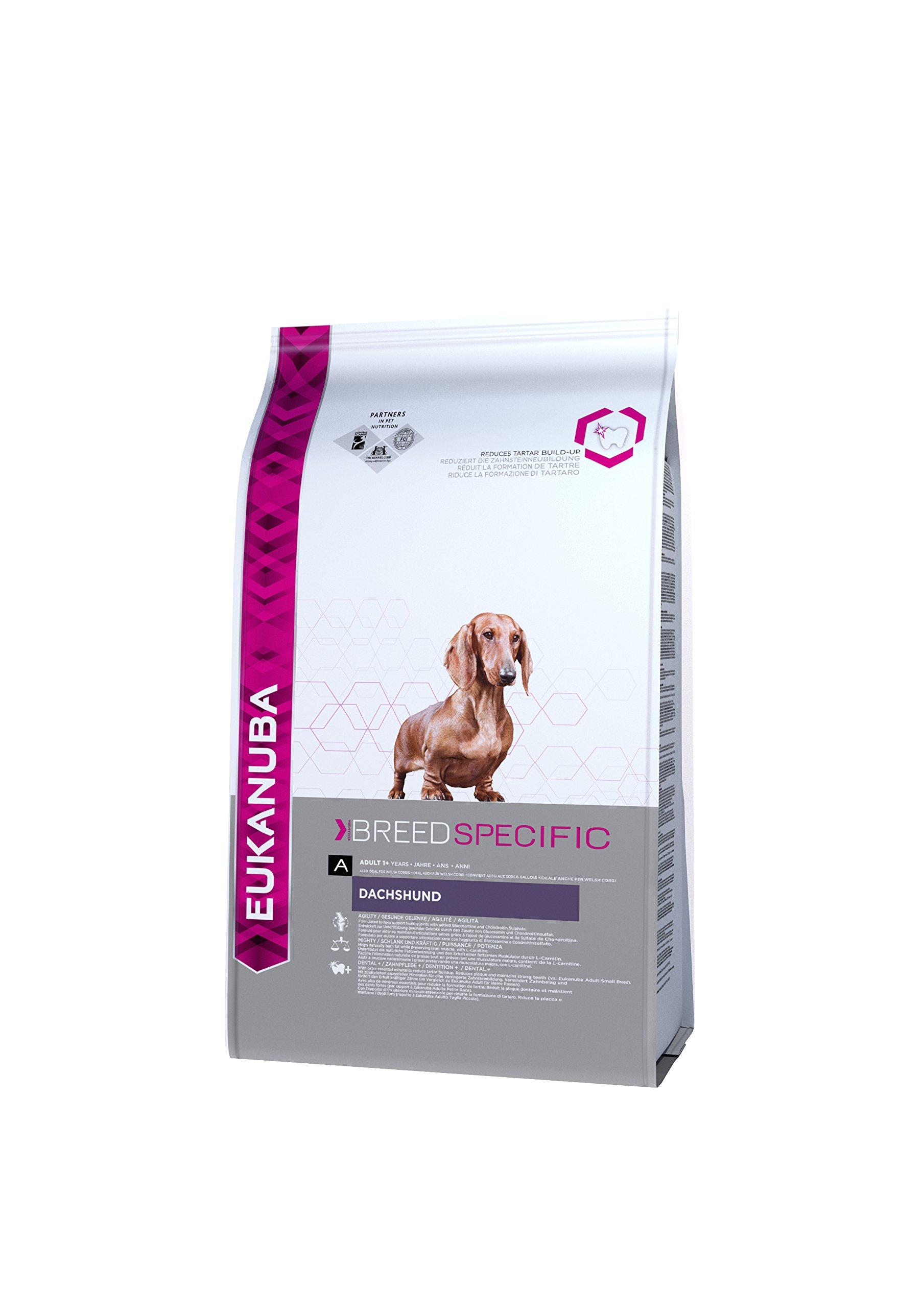 EUKANUBA Adult Breeds Specific Dachshund Chicken, 2.5 kg