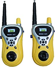 Battery Operated Walkie Talkie Toy for Kids, Multi Color