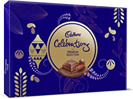 Cadbury Celebrations Premium Assorted Chocolate Gift Pack, 286.3g