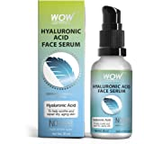 WOW Skin Science Hyaluronic Acid Moisturising Face Serum - Soothing & Repairing Dry and Aging Skin - For All Skin Types - No