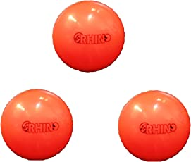 CE Rhino Cricket Wind Ball Match Quality (CE-Ball-D) - Pack of 3