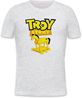 Troy Story Trojan Horse Mens T-shirt