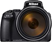 Nikon P1000, 16MP  125 x Optical Zoom  Point and Shoot Camera Black