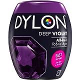 DYLON Washing Machine Fabric Dye Pod for Clothes & Soft Furnishings, 350g – Deep Violet