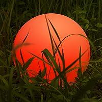 Kugelleuchte, Homever LED-Solar-Kugelleuchte Wasserdicht Schwimmkugel Outdoor Leuchtkugel Mit 9 Farbwechselmodi für Garten/Teich/Pool/Party