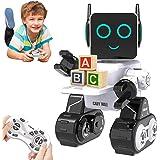 HBUDS Robot di Controllo Remoto RC per Bambini, Giocattolo di Robotica di Controllo del Suono Touch Ricaricabile, Kit di Robo