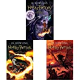 Harry Potter And The Deathly Hallows (Harry Potter 7) + Harry Potter And The Half Blood Prince + Harry Potter And The Order O