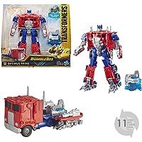 TRANSFORMERS Saga - Robot propulsion Optimus Prime camion Nitro series 18cm - Jouet transformable 2 en 1