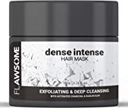 Flawsome Dense Intense Exfoliating Deep Cleansing Scalp Scrub & Hair Mask - 200 Gm