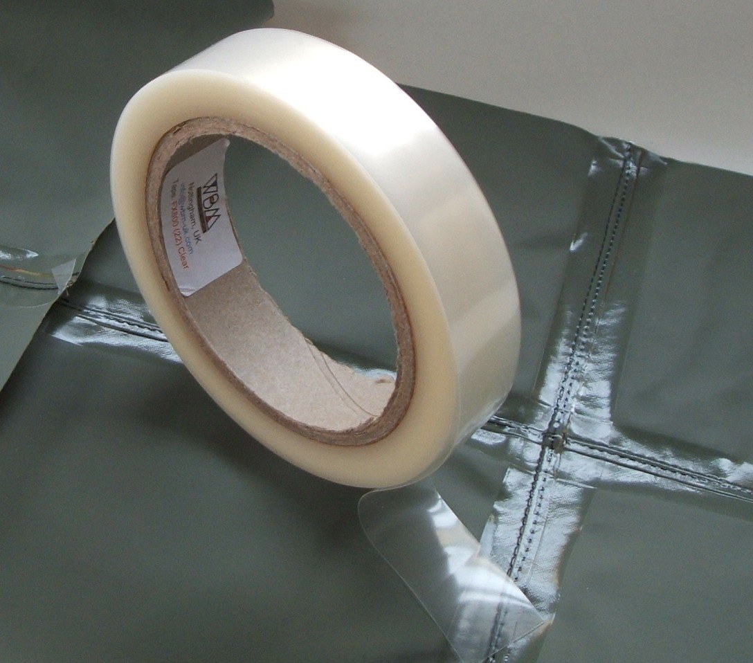 Seam Sealing Tape - WBM FX-800 - Hot Melt - Waterproof PU Coated Fabric- Repair Tape - 20 Metres - Iron On (Clear (Transparent) 22mm Width) Amazon.co.uk ... & Seam Sealing Tape - WBM FX-800 - Hot Melt - Waterproof PU Coated ...