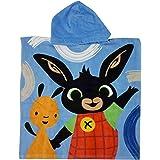 Bing Bunny - Poncho Accappatoio Mare Piscina - Bambino Bambina - 55x55cm - 100% Cotone