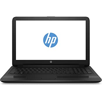 HP 15-ba050ng 39,6 cm (15,6 Zoll/Full HD) Laptop (AMD A6-7310, 4 GB DDR3L, 1 TB HDD, AMD Graphics, DVD-RW, Win 10 Home 64 Bit) Schwarz