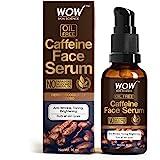 WOW Skin Science Caffeine Face Serum - Quick Absorbing - OIL FREE - Anti-Aging, Anti-Wrinkles; Refresh, Revive & Restore Skin