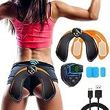 Glutei Elettrostimolatore Muscolare Elettronico Natica Trainer,EMS Glutei Allenatore con USB Ricaricabile, Glutei…