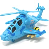Akrobo Toy Friction Powered Early Educational Toddler Baby Toy Push and Go Helicopter, Toys Gift for Kid with Light and…