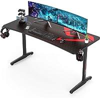 UMI.by Amazon Gaming Tisch I Shape Gaming Schreibtisch Computer Tisch PC für Heim und Büro 152×70CM Schwarz