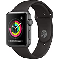 Apple Watch Series 3 (GPS, 42mm) - Space Grey Aluminum Case with Black Sport Band