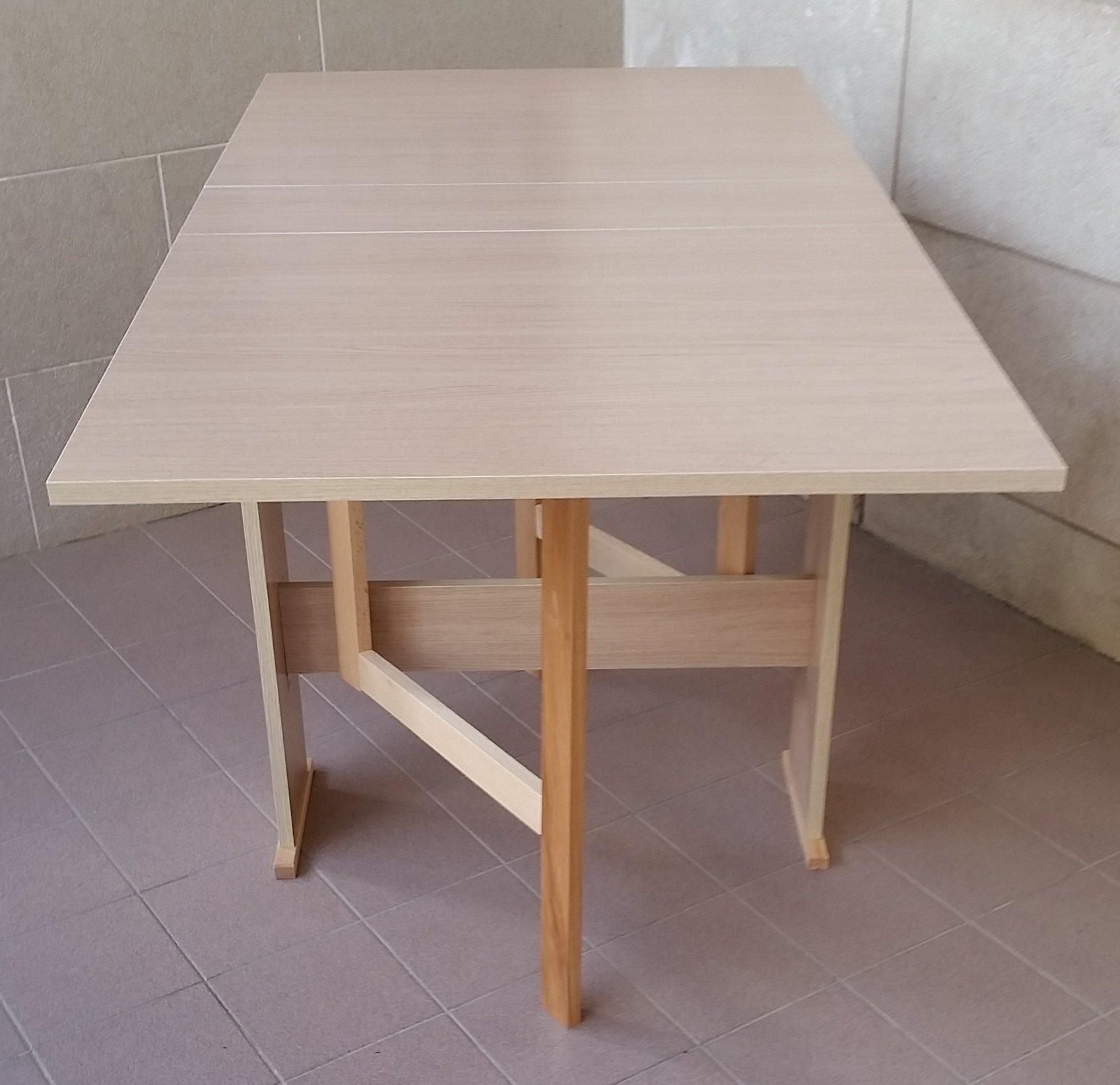Frams tavolo susanna a consolle richiudibile rovere - Tavolo richiudibile ...