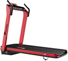 Powermax Fitness TD-A3 2.5 HP (5 HP Peak) Plug and Run (100% Preinstalled) Motorized Treadmill - Free Installation...