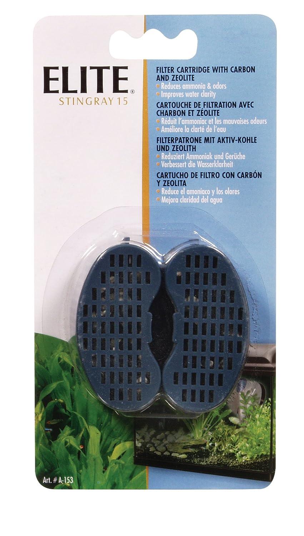 Superfish aquarium fish tank aqua 40 - Elite Stingray 5 Filter Replacement Carbon Cartridge