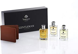 Yardley Gentleman EDT Classic, 50ml Adventure, 50ml Legend, 50ml Gift Pack with Free Wallet