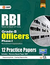 RBI Grade B Officers Ph I - 12 Practice Papers