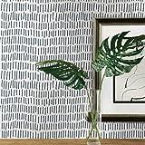 ورق حائط مطبوع عليه علامة القراد باللون الأزرق والأبيض من روم ميتس