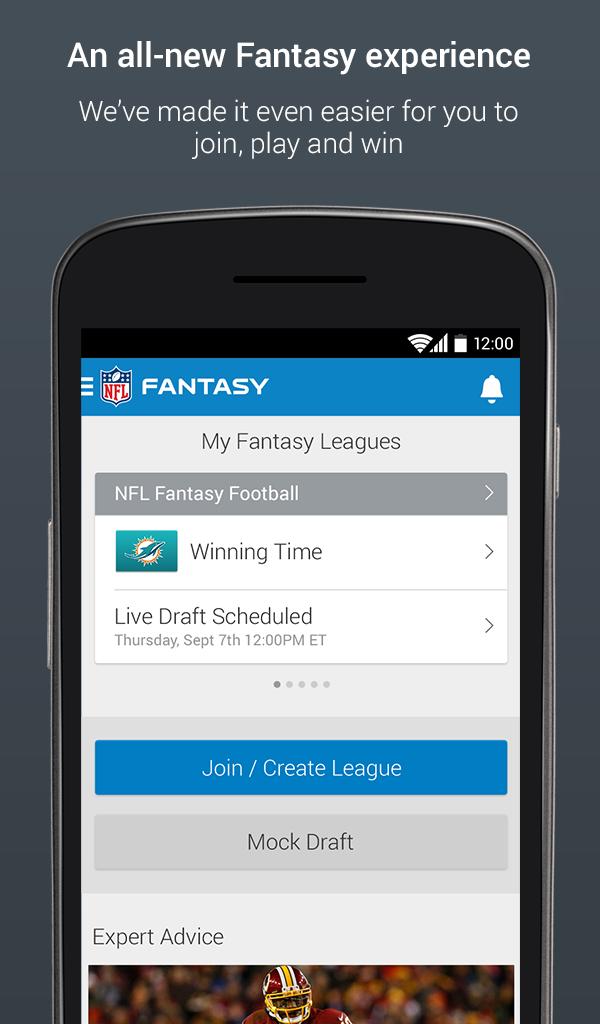 NFL Fantasy Football - Official NFL com Fantasy Football app