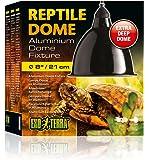 Exoterra Dome Fixture Aluminium-Reflektorlampe, für Reptilien/Amphibien