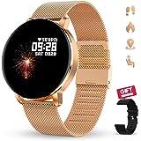 GOKOO Smartwatch Orologio Fitness Donna Uomo Cardiofrequenzimetro Monitor Contapassi Conta Calorie Polso Pressione Sanguigna