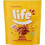 Life Noci Sgusciate, Noci Pelate, Fonte di Potassio e Ferro, Frutta Secca, Snack Frutta Secca Ideale per la Tua Pausa…