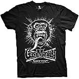 Gas Monkey Garage Camiseta con Licencia Oficial, Estampado de explosión