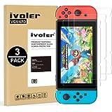 iVoler [3 Pack] Pellicola Vetro Temperato per Nintendo Switch, Pellicola Protettiva Protezione per Schermo per Nintendo Switc