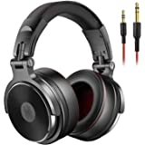 OneOdio Adapter-Free DJ Headphones for Studio Monitoring and Mixing,Sound Isolation, 90° Rotatable Housing with Top…