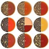 VAHDAM, Chai Tea Sampler - 10 TEAS, 50 Portionen   100% NATÜRLICHE GEWÜRZE   Indiens ursprüngliche Masala Chai Tees   Brew Hot, Iced oder Chai Latte   Teesortenpaket   Chai Tea Loose Leaf, 100g