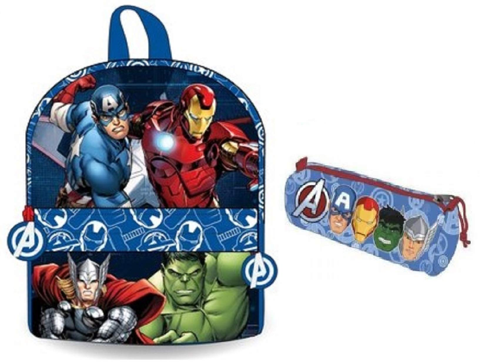 Avengers mochila infantil – estuche Avengers