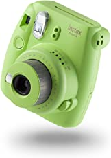 Fujifilm instax Mini 9 Camera with 10 Shots - Lime Green