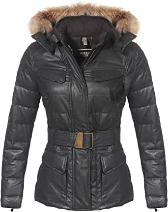 Matchless Damen Daunen Winter Jacke Hampstead Black 120008