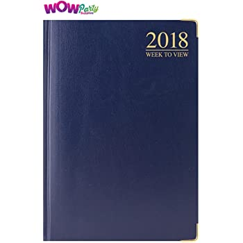 2019 POCKET DIARY WEEK TO VIEW ASSORTED COLOUR RED,BLUE,BLACK DIARIES P2516