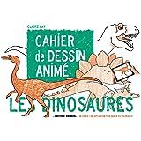 Cahier de dessin animé Les Dinosaures