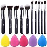 Amazon Brand – Eono Set di pennelli trucco Premium Synthetic Kabuki Foundation Cipria Fard Set di pennelli trucco…